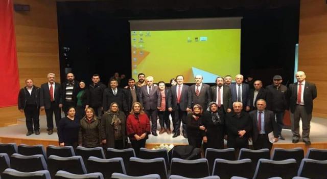 CHP'de il kongresi yapıldı, Ağaç yeniden başkan oldu