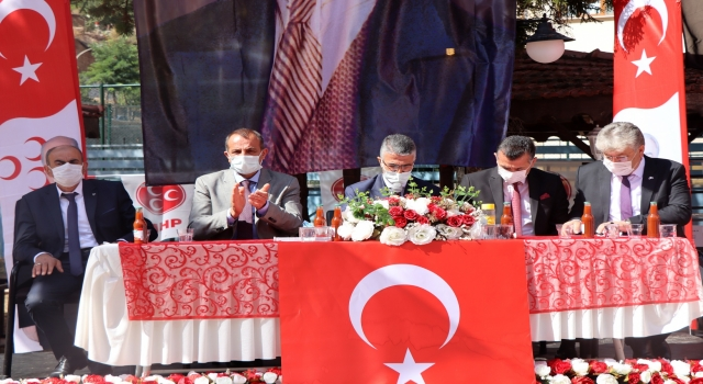 Milliyetçi Hareket Partisi (MHP) Gümüşhane 13.olağan il kongresi gerçekleşti