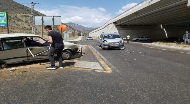 Torul'da Trafik Kazası: 1 Yaralı