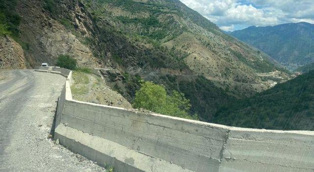 'Ölüm Yolu'na Beton Bariyerli Önlem