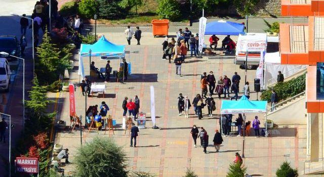 Gümüşhane Üniversitesi öğrencileriyle buluştu