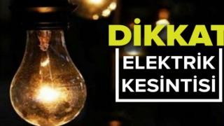 Gümüşhane Merkez ve Şiran'da Elektrik Kesintisi.