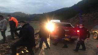 Gümüşhane'de otomobil baraja düştü: 1 ölü, 1 yaralı