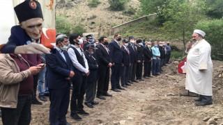 Gümüşhaneli Kıbrıs Gazisi son yolcuğuna uğurlandı