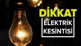 Şiran'da Elektrik Kesintisi