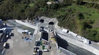Yeni Zigana Tünelinin yüzde 94'ü tamamlandı