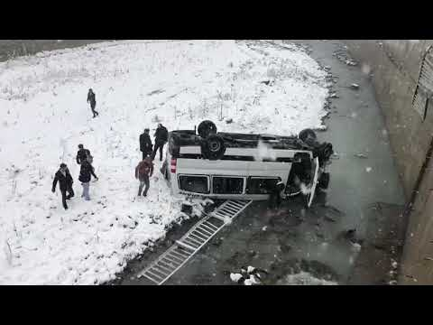 Haber29.com - Gümüşhane Otobüsü Kaza Yaptı
